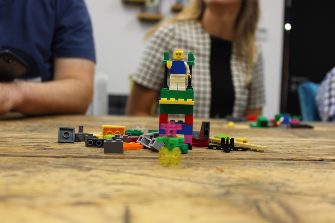 Spotless' LEGO serious play workshop