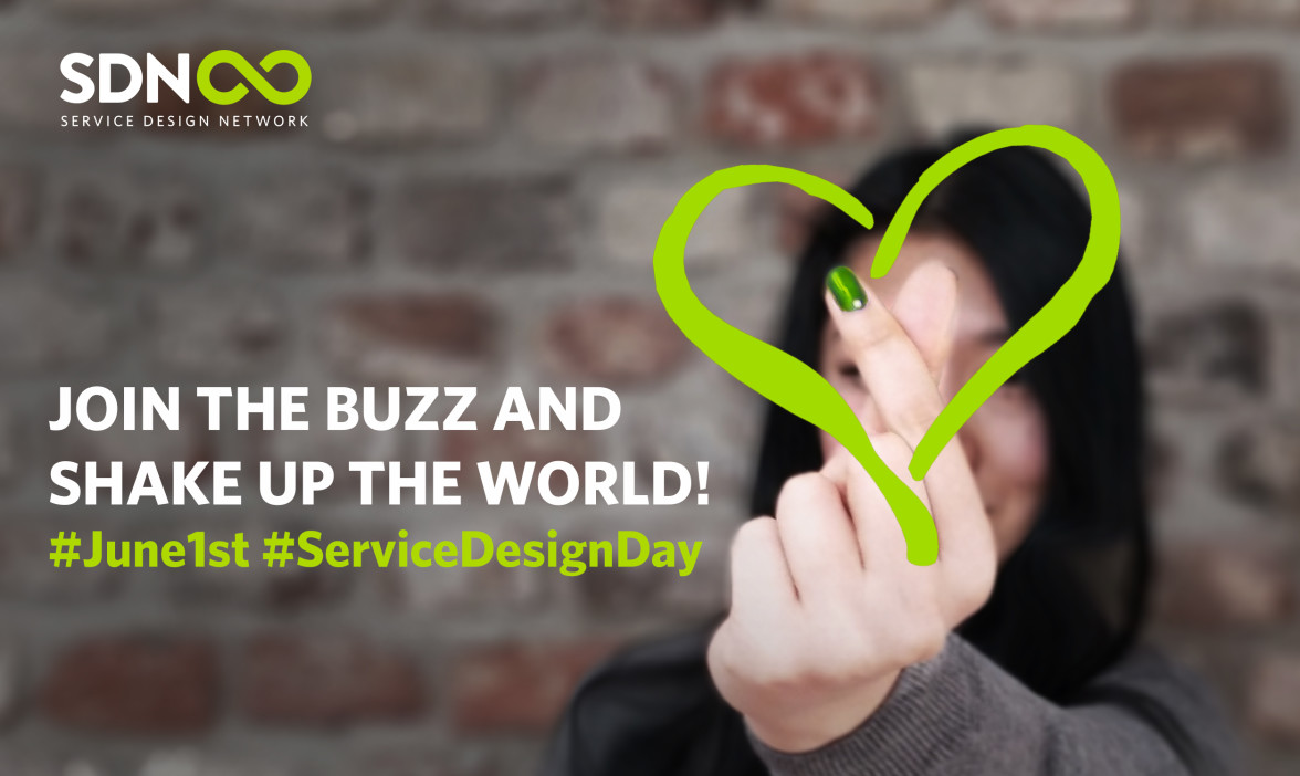 Service Design Day Promotional Image -- Service Design Network