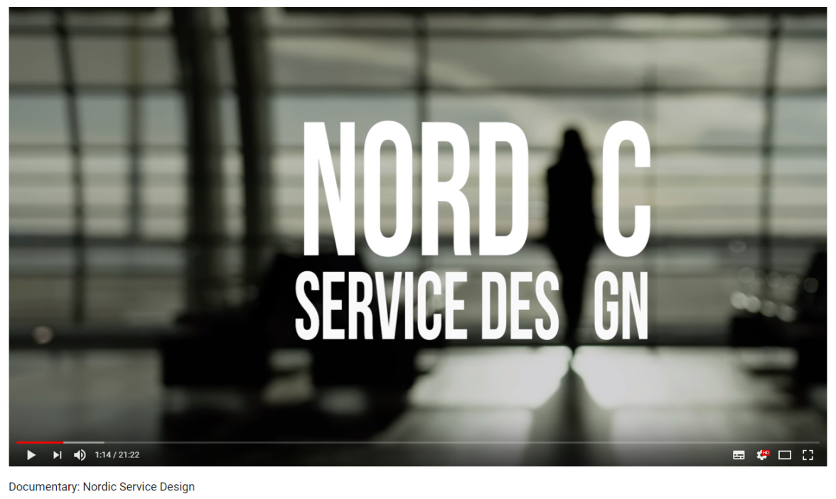 -- Service Design Network - Nordic chapters