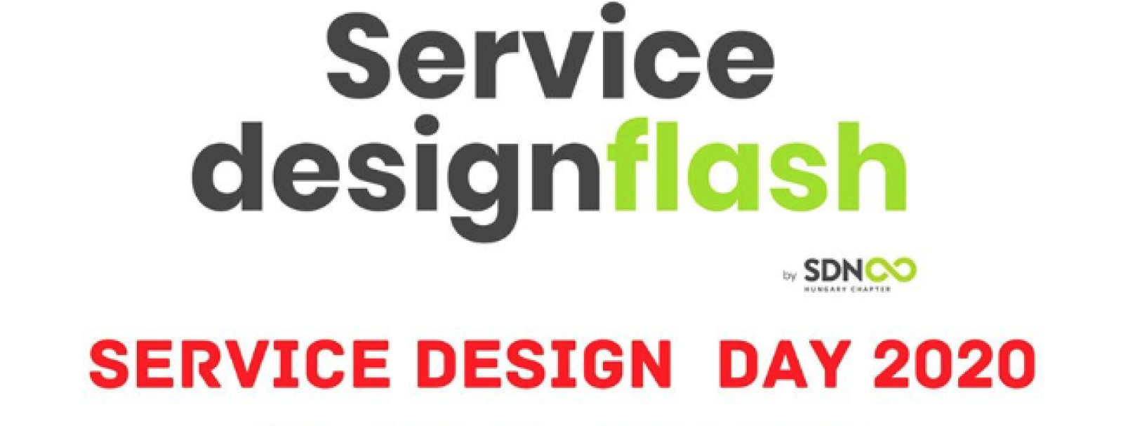 Service designflash - Service Design Day 2020