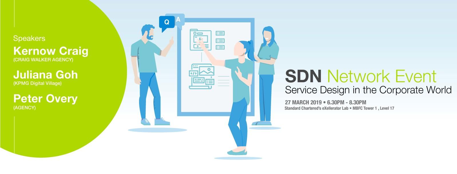 Service Design in the Corporate World