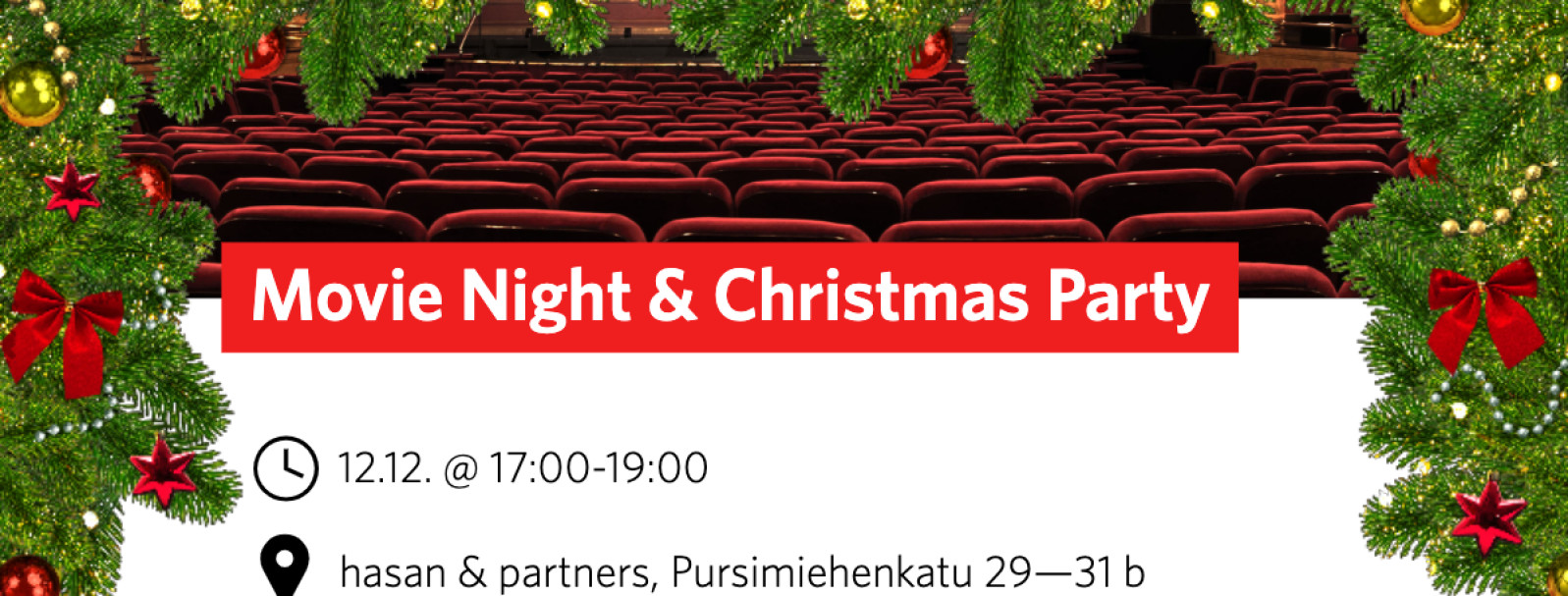 SDN Movie Night & Christmas Party