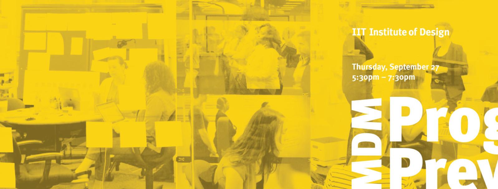 IIT Institute of Design - Master of Design Methods Program Preview