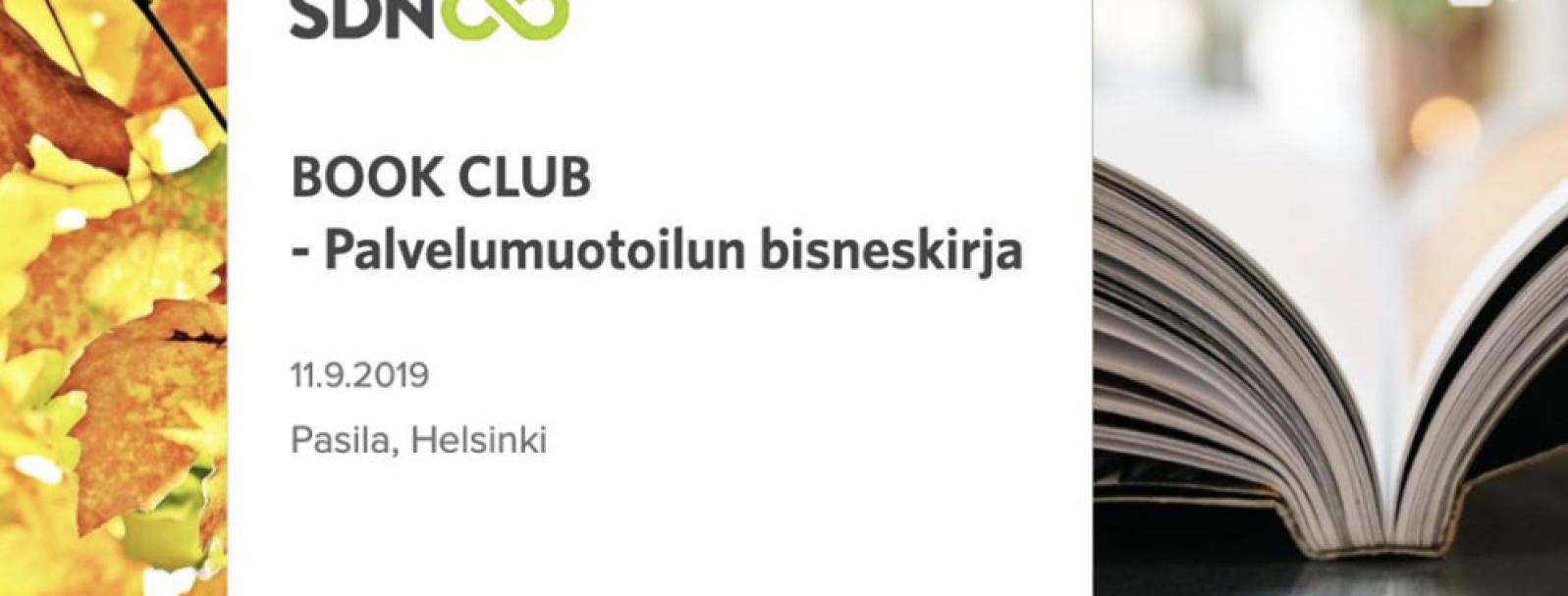 Book Club - Palvelumuotoilun bisneskirja