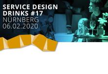 """Service Design Drinks Nürnberg #17 - """"SERVICE DESIGN IM KRANKENHAUS – ein unüblicher Ansatz"""""""