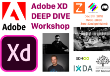 The joint event - #AdobeXD #DeepDiveXD