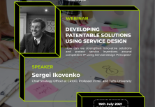 Developing Patentable Solutions Using Service Design