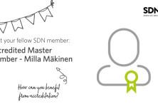 Meet your fellow SDN member: Accredited Master Member, Milla Mäkinen