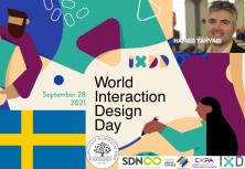 #IXDD Sweden 2021  joint online event