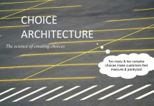Choice Architecture Design