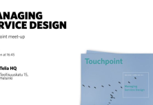 Managing Service Design | Touchpoint meet-up