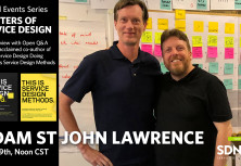 Masters of Service Design: Adam StJohn Lawrence - Live Interview and Open Q&A!