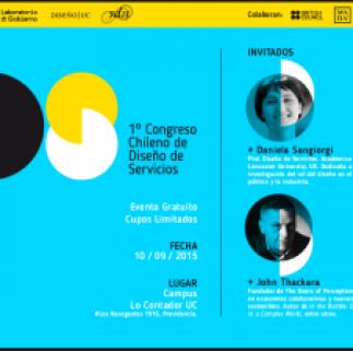 Congreso Diseño de Servicios, Design Thinking, Diseño de Servicios, Innovación, Service Design, Service Design Network, Service Design Network Chile -- SDN Chile
