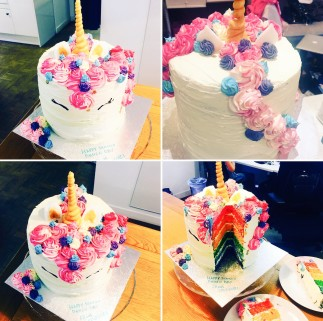 A beautifully decorated cake from Spotless UK by Nour Khaliefeh --