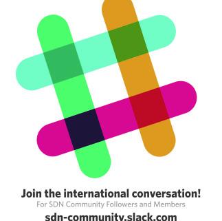 Join us at sdn-community.slack.com! --
