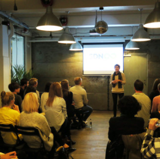 Moderating the day: Katrine Rau from FJORD Copenhagen --