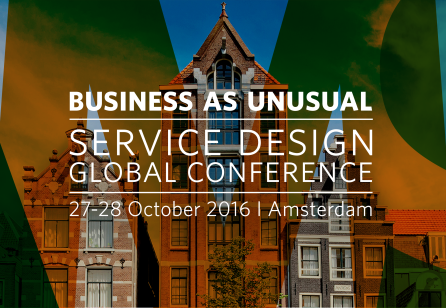 Service Design Global Conference 2016 Amsterdam