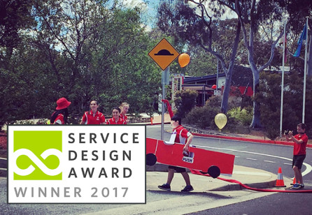 DMA: Implementing Service Design Methods In Australian School