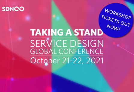 Program is now live and workshop tickets are  available for Service Design Global Conference 2021!
