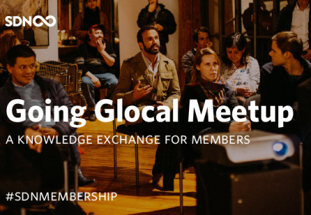 Going Glocal Meetups: A Knowledge Exchange for SDN Members