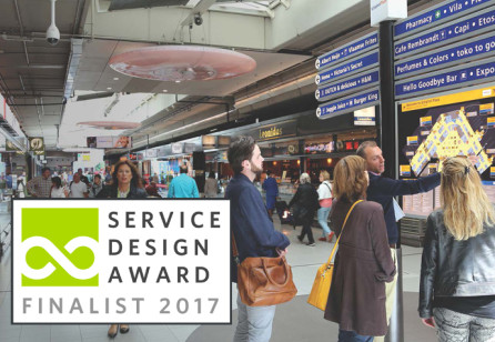 Essense: Service Design Airport Experience - Commercial Journey Vision