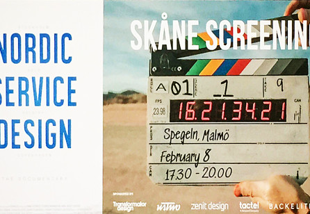 Nordic Service Design – Skåne Screening