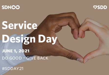 Service Design Day 2021: Do Good - Give Back!