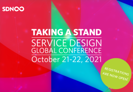Early bird tickets are now available for Service Design Global Conference 2021!