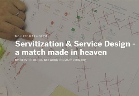 Servitization & Service Design: A Match Made In Heaven