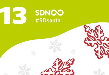 Door 13 - #SDsanta - The SDN Advent Calendar with Stefan Moritz