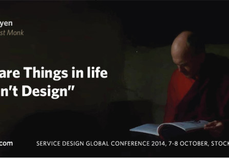 Service Design Global Conference 2014  in Stockholm