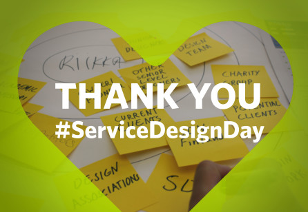 Thank you for a great Service Design Day!