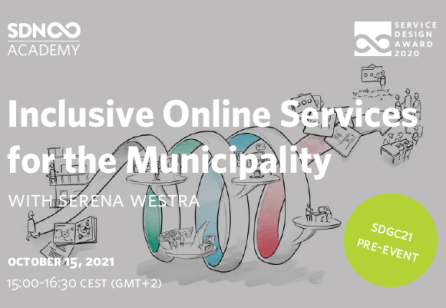 Inclusive Online Services for the Municipality - SDN Finalist 2020