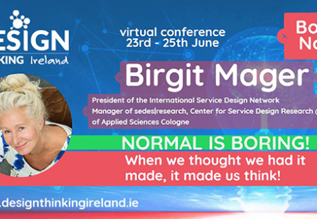 DTConf2020 - Normal is Boring When we thought we had it made it made us think by Prof. Birgit Mager