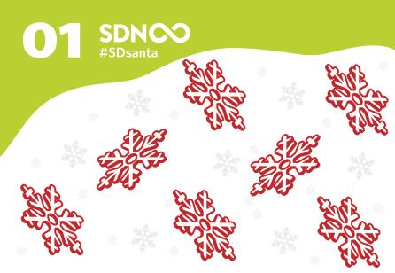Door 1 - #SDsanta - The SDN Advent Calendar