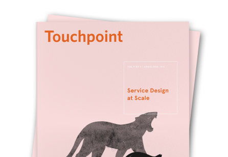 Discover Touchpoint Vol. 9 No. 3 - Service Design at Scale