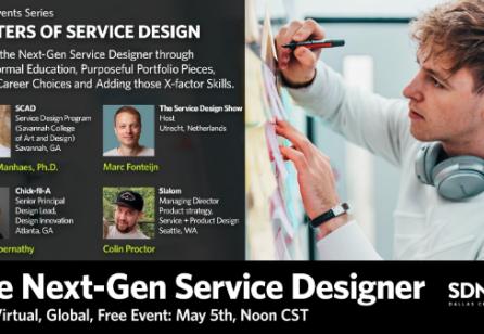 The Next-Gen Service Designer