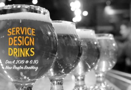 Service Design Drinks Atlanta
