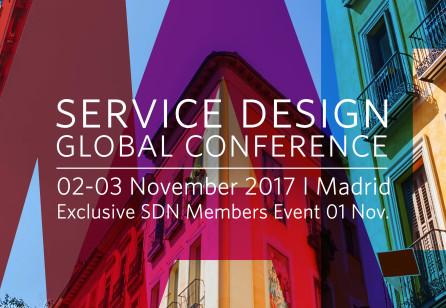 Service Design Global Conference 2017 Madrid