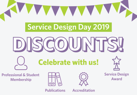 Service Design Day Discounts