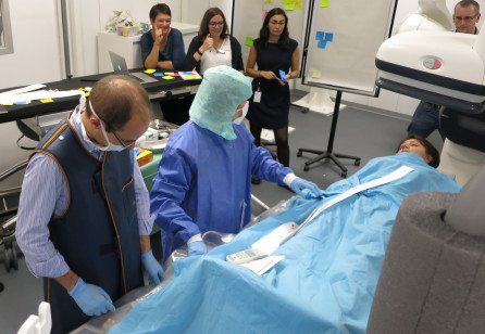 Bodystorming Healthcare - Rethinking the experience of interventional radiology
