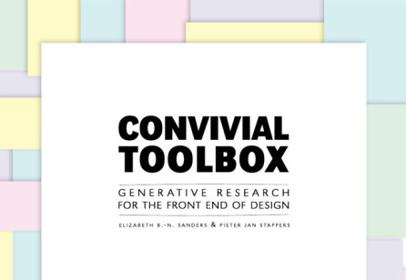 Convivial Toolbox: Generative Research for the Front End of Design