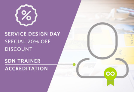 Service Design Day - Apply for your Accreditation and save 20% off