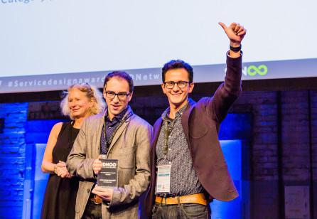 Service Design Award 2017: the finalists