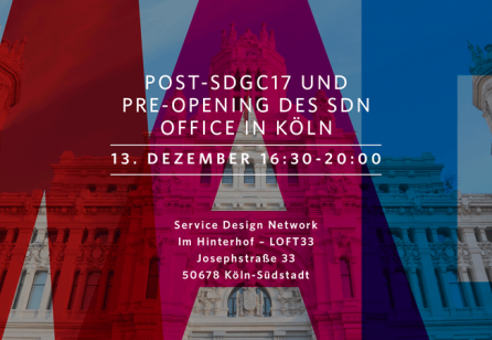 Post-SDGC17 und Pre-Opening des SDN Office in Köln