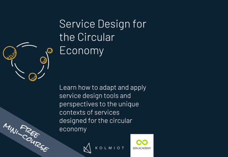 Free mini-course: Service Design for the Circular Economy