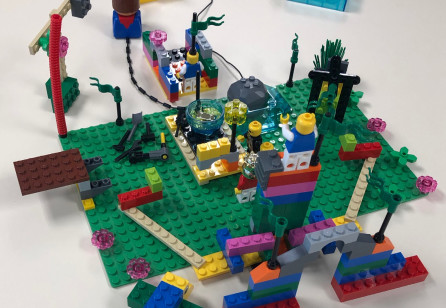 Building Service Design by Playing with Purpose - Using LEGO® Serious Play® in service design