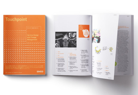 New Touchpoint issue, Vol. 11 No. 3 - Service Design and Change Management,  is released!
