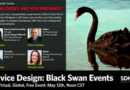 Black Swan Events: Service Design to Prepare for the Future