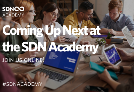 SDN Academy | Coming Up in November